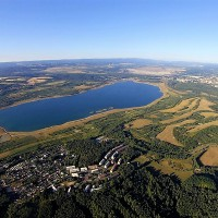 Jezero Medard - sokolovské moře